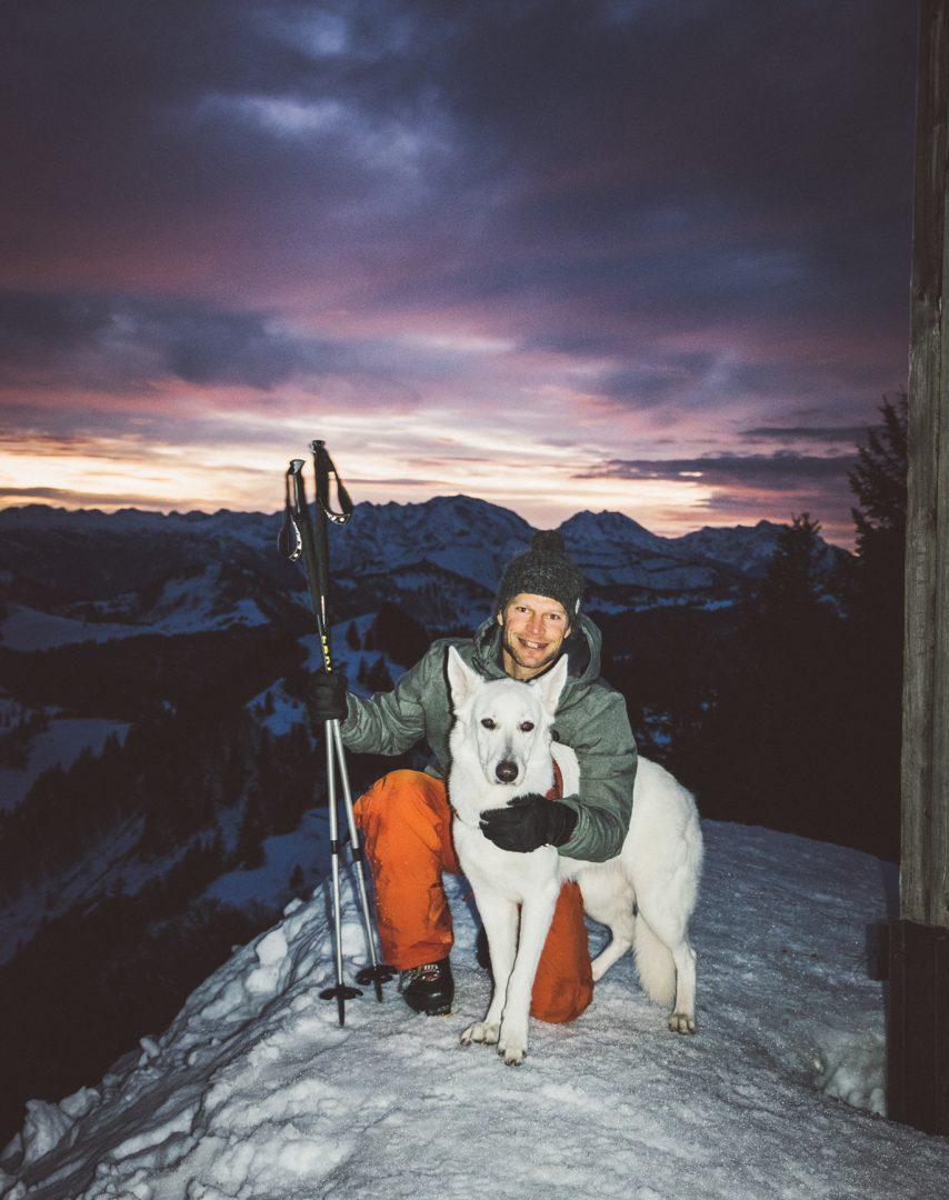 Skitour mit Sina am Zwölferhorn