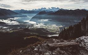 Goisern von oben - Bild vom Predigstuhl 1278m - Thumb